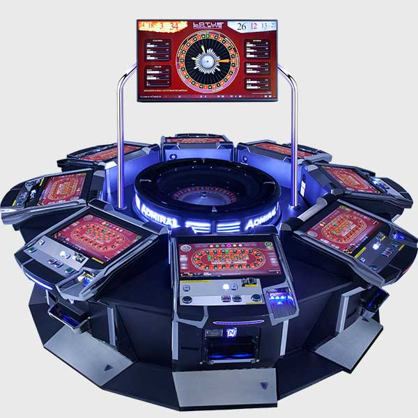 Lotus Roulette™ PRO 8 Player