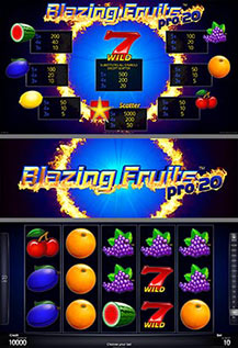 Blazing Fruits pro20