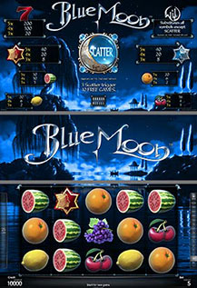BlueMoon - game screens